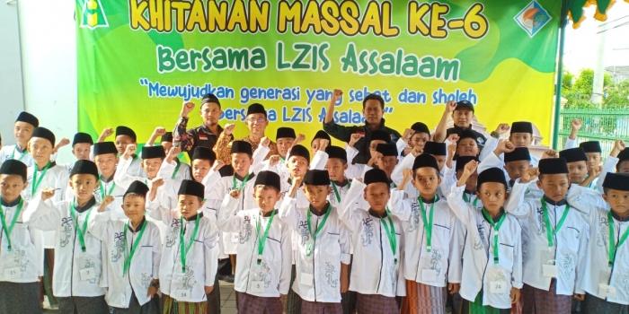 LZIS Assalaam Selenggarakan Khitanan Massal ke 6