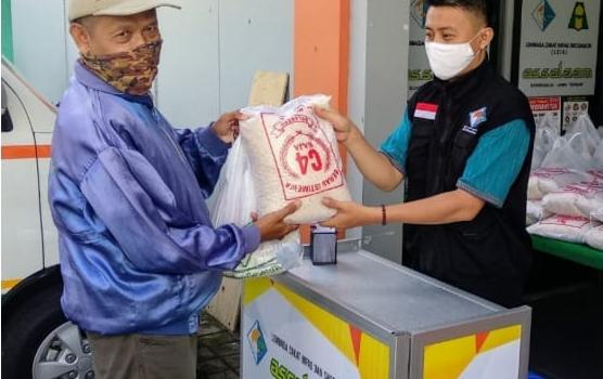 Penyaluran Paket Sembako Untuk Warga Binaan LZIS Assalaam