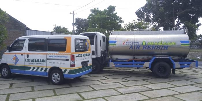 Penyaluran Air Bersih di Dusun Candi, Ngreco, Weru, Sukoharjo