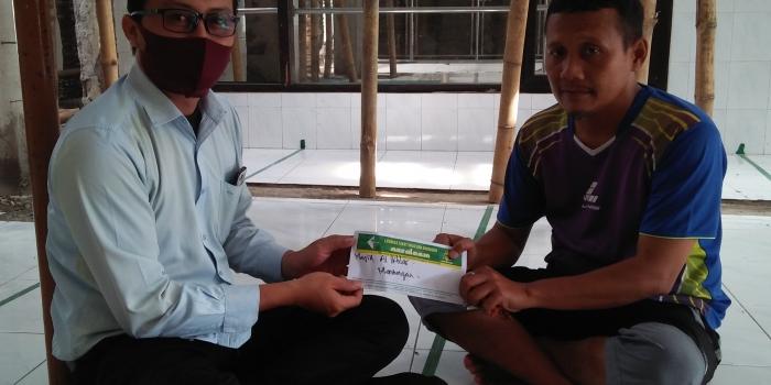 Bantuan Pembangunan Masjid Al Ikhlas Mendungan